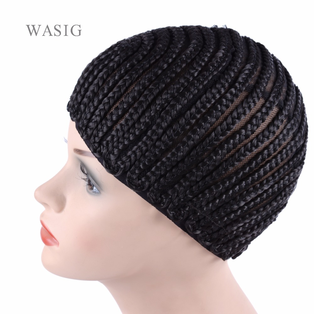 Tools & Accessories 10pcs Large Crochet Wig Cap Easy Sew In Cornrow Wig Cap For Making Wigs Stretching 52-66cm Super Ealstic Cornrow Cap Hairnets Be Friendly In Use Hair Extensions & Wigs