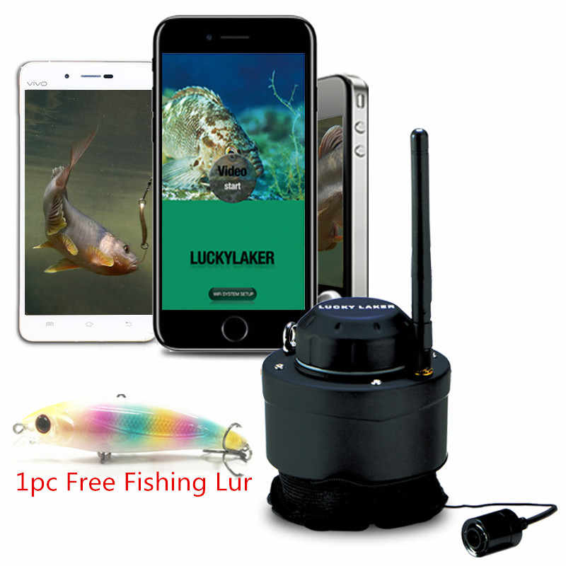 WIFI Underwater Camera FF3309 80M Wireless Operating Range Carp Sounder Deeper Sonar Fishfinder for Fishing with Android/IOS APP
