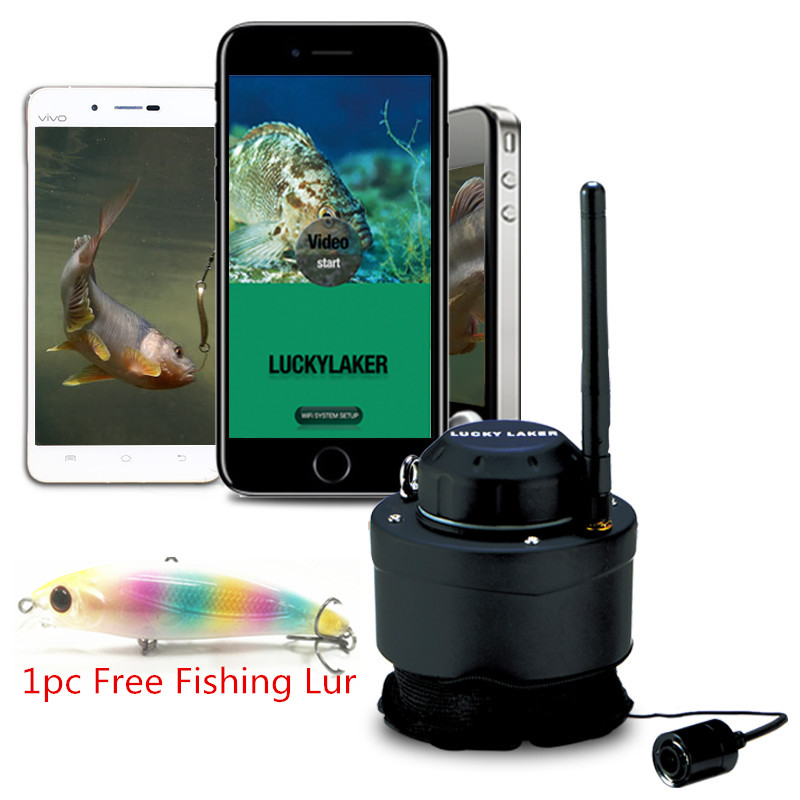 WIFI Underwater Camera FF3309 80M Wireless Operating Range Carp Sounder Deeper Sonar Fishfinder for Fishing with Android/IOS APP Эхолот для рыбалки