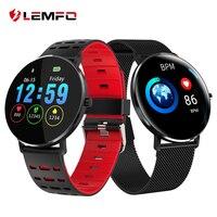 LEMFO L6 Full Screen Touch Thinner Smart Watch IP68 Waterproof Multiple Sports Mode DIY Watch Face 250Mah Fitness Bracelet