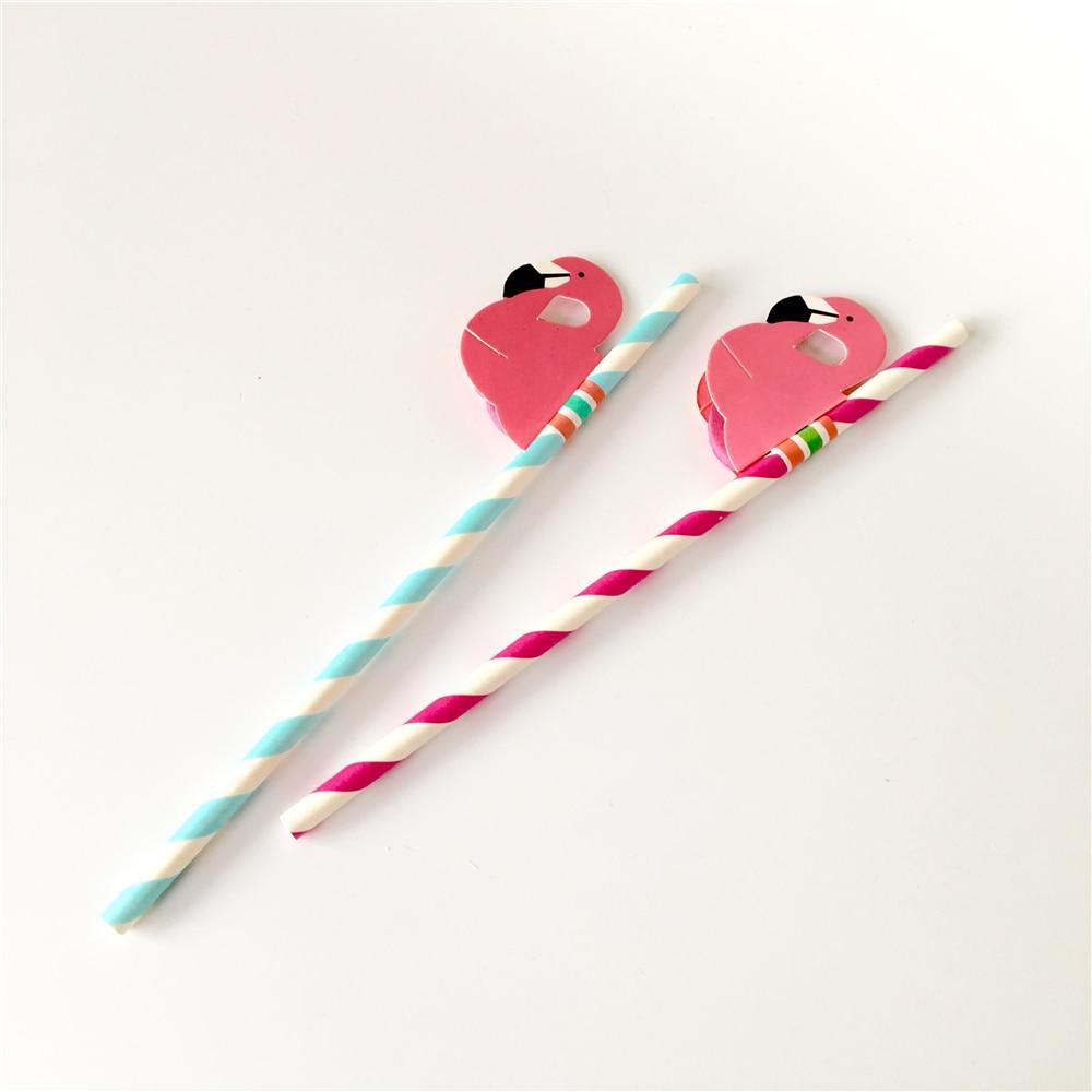 Flamingo Party Straws 10Pcs/set Reusable Plastic Straws Party Diy Decorations Paper Straws Wedding Table Decoration Supplies,9 12