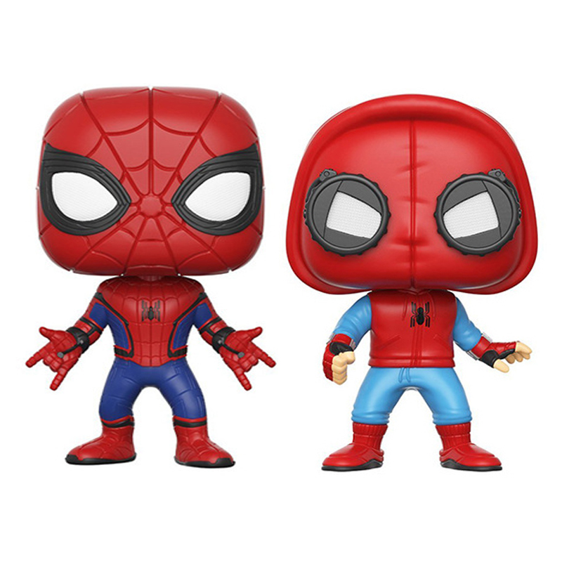 2018 NEW Spider Man 2 Hero Spider-Man Homecoming Spider Man Action Figures PVC Model 10cm Kids Toys Gift 12pcs set children kids toys gift mini figures toys little pet animal cat dog lps action figures