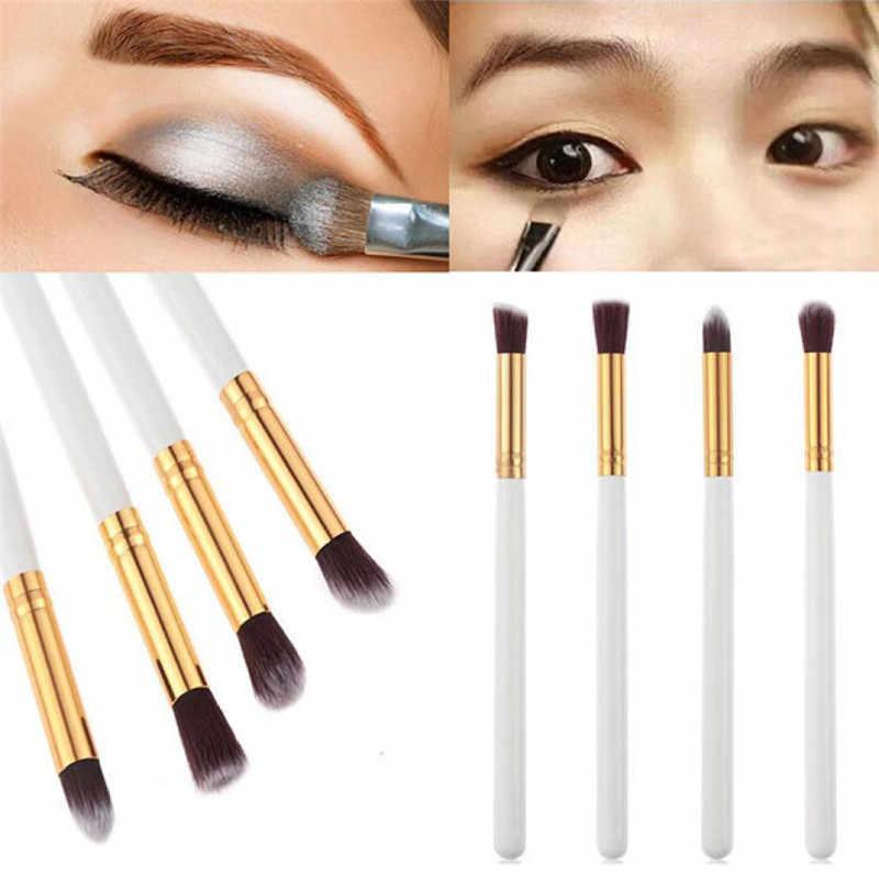 Pro 4 Uds herramienta cosmética de maquillaje sombra de ojos en polvo brocha para mezclar bases Set 2018 nuevos pinceles de maquillaje