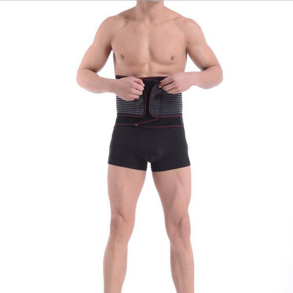 Medical Belt Orthopedic Corset Back Support Men Back Waist Suporte Belts postural correction Breathable Double-side Pulls