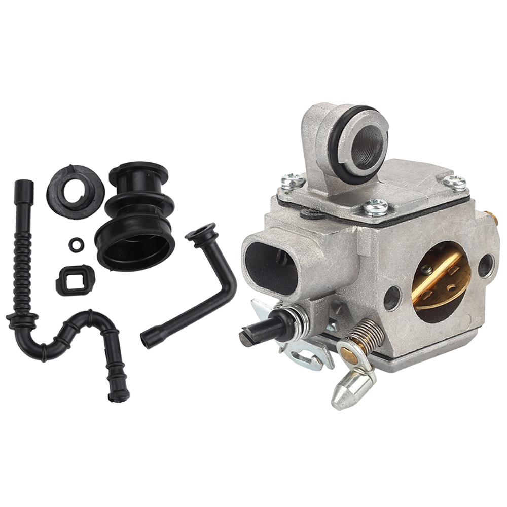 US $14 56 15% OFF|Carburetor Carb+Fuel Oil Line Intake Manifold Buffer  Rubber Boot For MS361 MS361C Zama C3R S236 #1135 120 0601 Chainsaw Spares  -in