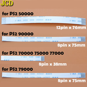 Image 4 - JCD 2 pcs di Ricarica Bordo del PWB e interruttore di Alimentazione Cavo Della Flessione Per PS3 sottile PS2 10pin 12pin 14pin Nastro Della Flessione cavo per PS4