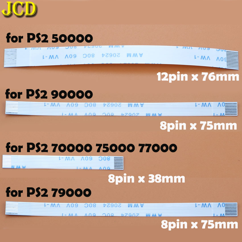 Image 4 - JCD 2pcs Charging PCB Board and Power switch Flex Cable For PS3 slim PS2 10pin 12pin 14pin Ribbon Flex Cable for PS4-in Replacement Parts & Accessories from Consumer Electronics
