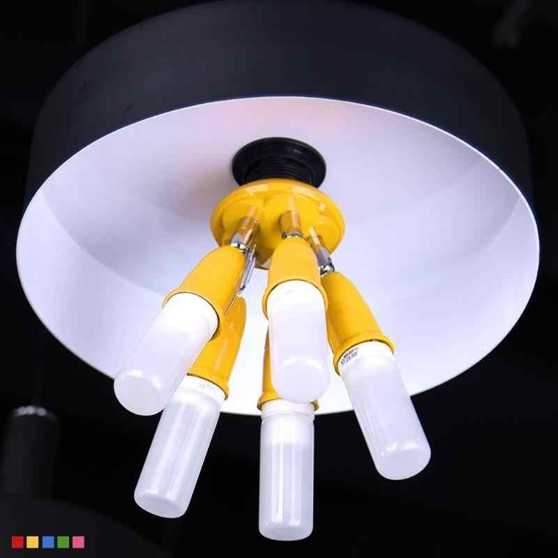 5 в 1 E27 для E27 Регулируемый Цвет База гнездо Splitter светодиодный держатель лампы E27 держатель лампы переходник-разветвитель на две лампы Цоколь