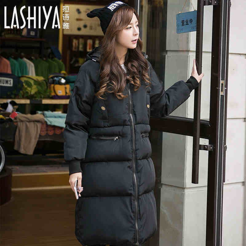 2017 New Women Coat Jacket Korean Style Woman Parka Winter New Thick Warm Women Plus Size Parkas Coats For Lady Clothes  A3357 pinky is black winter jacket women 2017 five colors hooded coat woman clothes winter jacket with pockets lady top coat hot