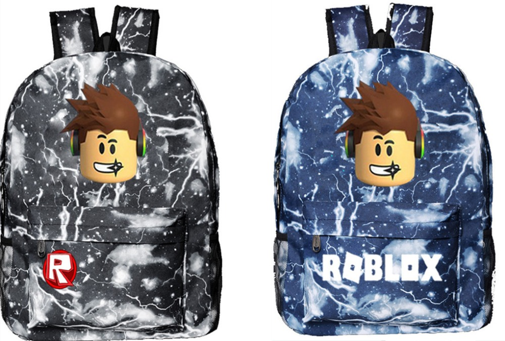 Game Roblox Backpack Student bookbags for teenage girls and Boys School Bags schoolbag bagpack Schoolbags Cosplay