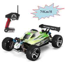 Wltoys A959-B 1:18 70km/h Proportional high-speed toy car 2.4G remote control four-wheel drive off-road vehicle drift RC car