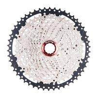 11 50T ZTTO 11 Speed Cassette Compatible Road Bike Sram System High Tensile Steel Sprockets Folding Black Silver Gear