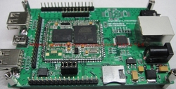 Gratis verzending ARM9 AT91SAM9260 Linux ATMEL netwerk development board spike STM32F 51 microcontroller