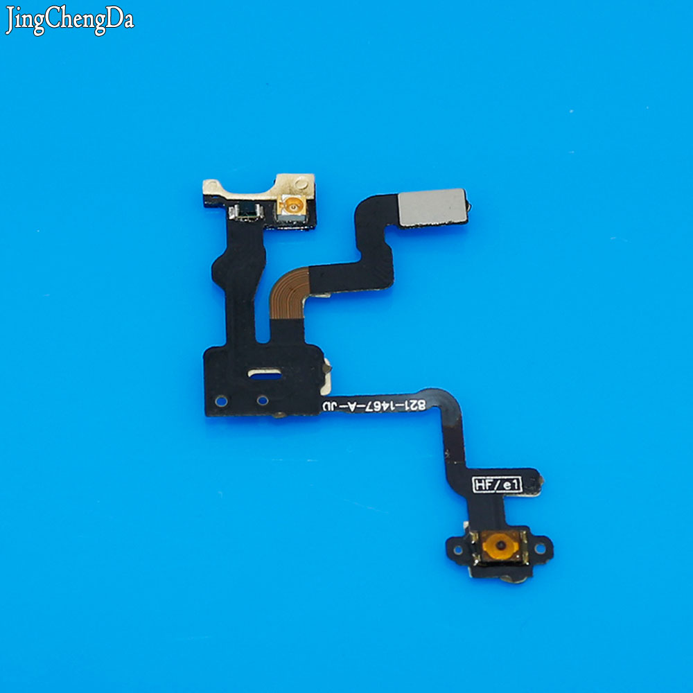 Jing Cheng Da 5pcs Replacement Parts For iPhone 4S Power Switch Button Flex Ribbon + Proximity Light Sensor On / Off Flex Cable