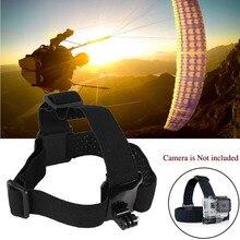 Action Camera Gopro Accessories Headband Chest Head Strap Mount Monopod For Go pro Hero 3 3+ 4 5 SJ4000 SJ5000 Sport Cam Helmet