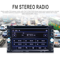 6.2 Inch HD Car MP5 Player 2018 Auto Car Radio Bluetooth Hands free Reversing Priority Mobile Phone Interconnect Card Machine