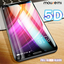 MOUSEMI Glass For Xiaomi Redmi 4X Note 4 Global 5D Full Cover Glued 9H Glass On 4X Protect