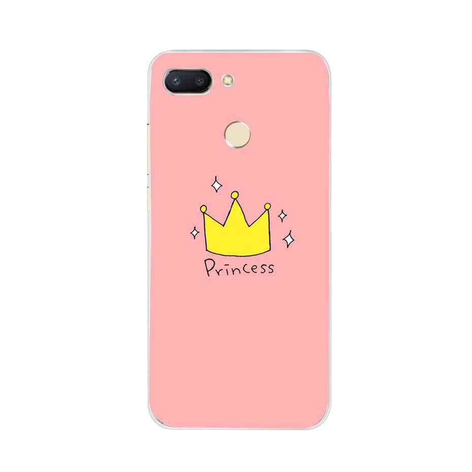 Для Xiaomi Redmi 6 Чехол Мягкий силиконовый чехол на Coque для Redmi Note 5 Plus Pro 4X 6A 6 A 4A 5A чехол для телефона бампер