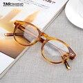 Novas tendências 2017 homens e mulheres Marca Retro quadros Prescrição óculos de miopia armações tag óculos oculos de grau 1915