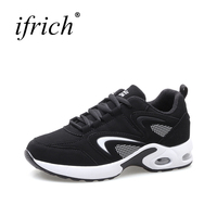 Women Professional Air Sole Running Shoes White Pink Ladies Sport Gym Sneakers Lace Up Comfortable Girls Althetic Runners Cheap