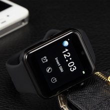DM09 Bluetooth SmartWatch 2.5D ARC HD Screen Unterstützung SIM Karte Tragbare Geräte Uhr Smartphone Fitness Tracker Für IOS Android