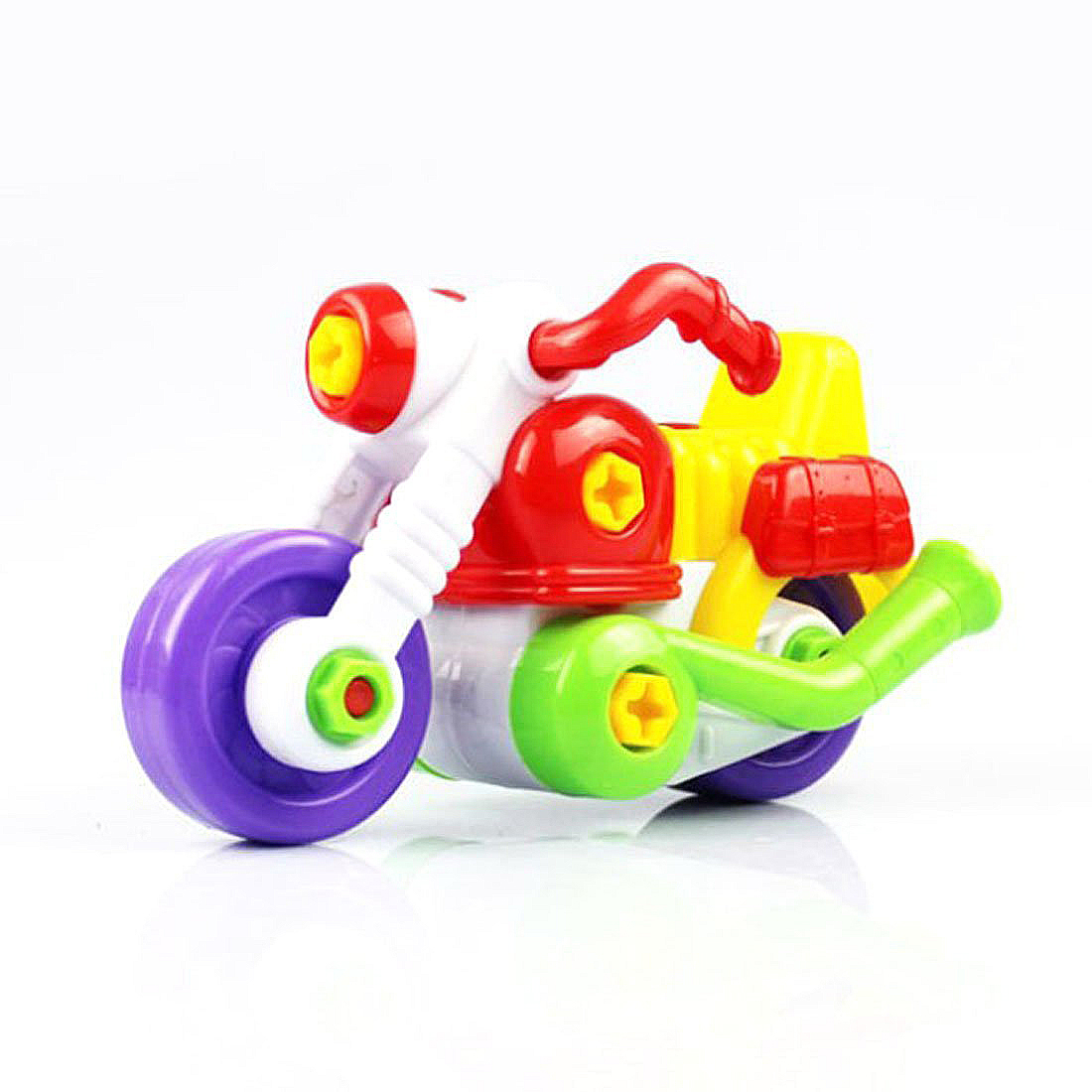 Kids Child Disassembly And Assembly Cartoon Motorcycle Toy With Tool Christmas Gift