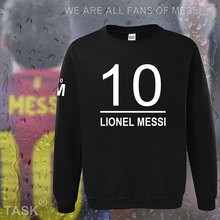 hoodies men lionel messi leo m10 argentina star sweatshirt polo sweat suit foot ball player streetwear fleece barcelona 2017 05