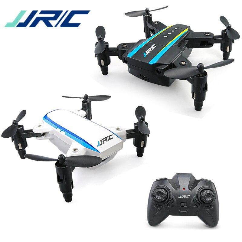 Nouveau JJRC H345 JJI JJII 2 pièces Mini Drones Quadcopte 2.4G 4CH 6 axes Mode sans tête bras pliable Double RC Drone VS E58 jouets