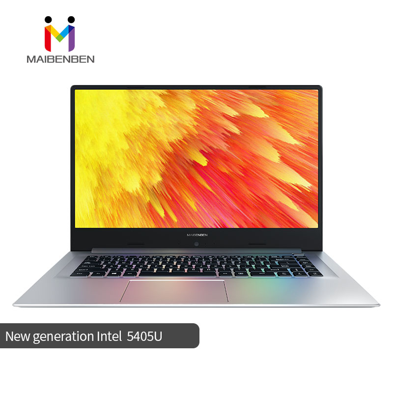 "MaiBenBen XiaoMai 6 Pro For Business Laptop Intel Pentium 5405U+MX250 Graphics Card/16G RAM/512G+1TB/DOS/WIN 10/15.6"" ADS Screen"