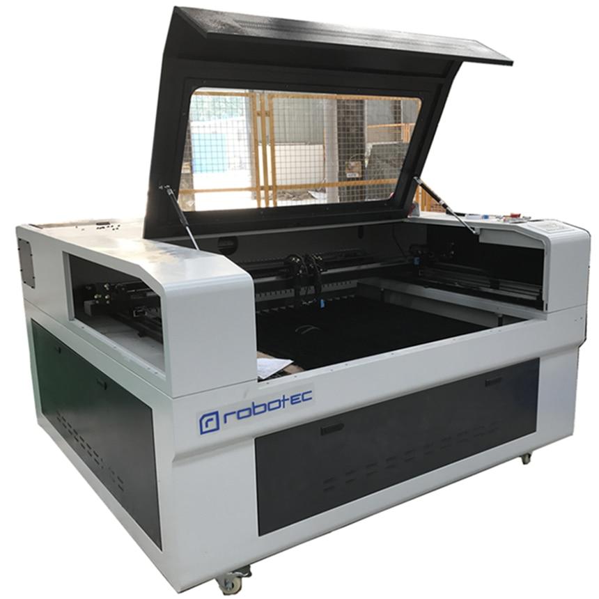 Top China laser carton box cutting machine/clothing laser cutting machine