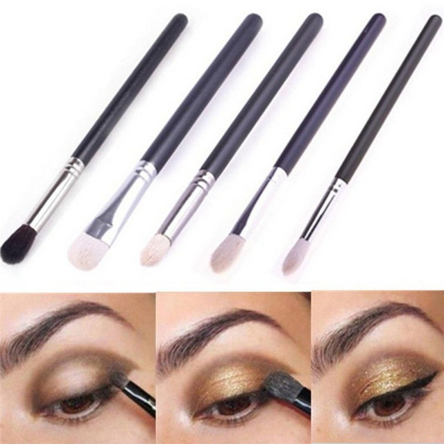 Fashion Women Girl Ladies Eyeshadow Powder Brush Eye Makeup Brush Cosmetic  Tools f826e6b18