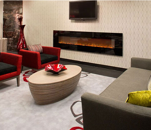 free shipping to Vietnam Black tempered glass, fake wood fire simulation  results, electric fireplace - Online Get Cheap Glass Electric Fireplace -Aliexpress.com