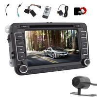 Автомобиль GPS навигации DVD CD плееры Авто Радио электронный блок для Volkswagen 7 ''2 DIN стерео аудио плеер Bluetooth /Радио
