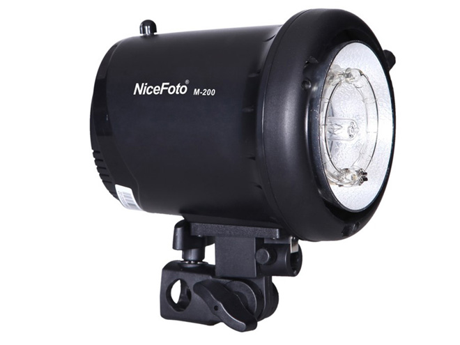 NiceFoto M-200 Studio Flash Strobe Lighting .Photography Lighting Mini Flash for Studio Portrait Photo Taking