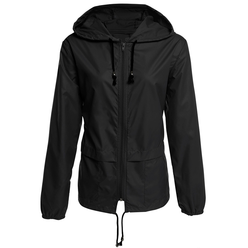 Coats and jackets women hoodies lightweight outdoor waterproof raincoat women 39 s jacket in Jackets from Women 39 s Clothing