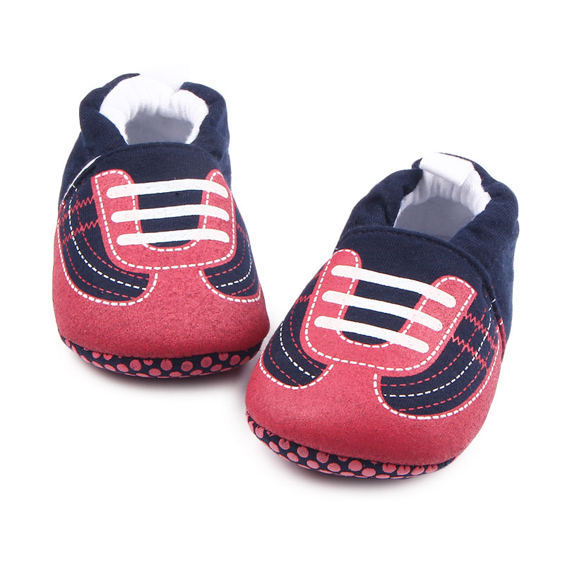 Mode mooie baby schoenen schattige dierenprints katoen stof - Baby schoentjes - Foto 3