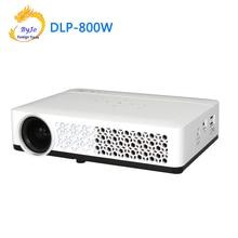 Poner Saund DLP 800W מיני מקרן WIFI אנדרואיד מקרן DLP מקרן קולנוע ביתי מקרן DLP 800W proyector beamer