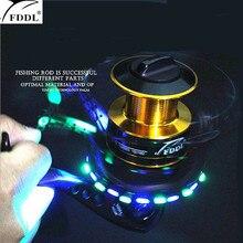 FDDL Brand Will shine fishing wheel 10+1 axis  5.2:1 Metal Fishing Reel Ball Bearings Type Reel roller sea rod fishing