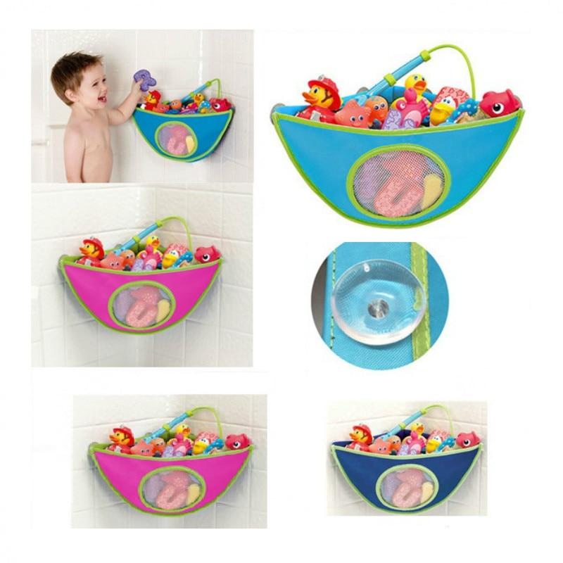 Forró eladási gyerek fürdőszobai játéktároló táska, jó minőségű vízálló bébi fürdő játékok tároló táska, fürdőszoba tároló táska!