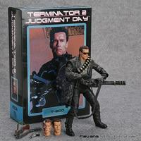 NECA Terminator 2: Oordeel Dag T-800 Arnold Schwarzenegger PVC Action Figure Collectible Model Toy 7