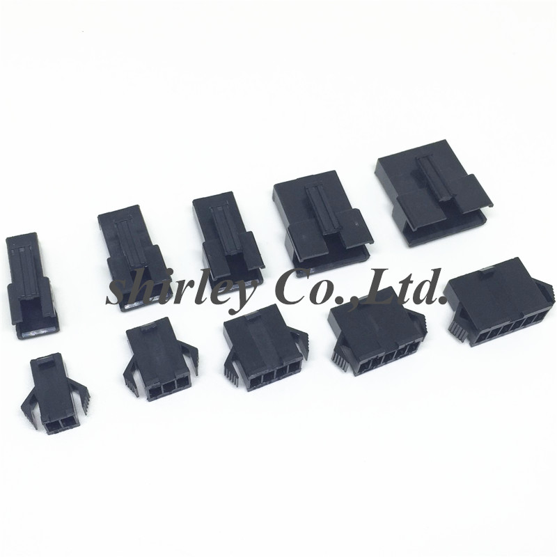 JST 10 Sets 2.5mm 26AWG SM 6Pin Female Male Housing Connector Plug Wire 300mm