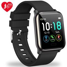 L8STAR B1 Smart watch 1 3 cal ciśnienie krwi 3D interfejs użytkownika tlenu we krwi inteligentny zespół 30 dni w trybie gotowości wielu sportów inteligentne centrum tracker tanie tanio Passometer Uśpienia tracker Tętna Tracker Stały Kalendarz 24 godzin instrukcji Tracker fitness Wiadomość przypomnienie