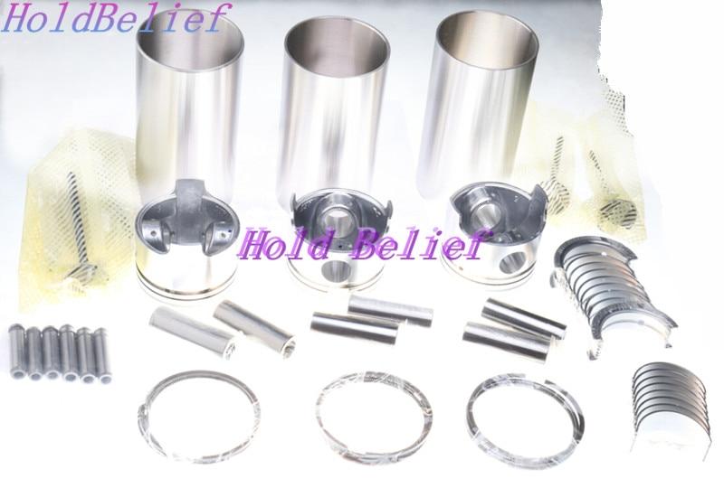 Cylinder Head Gasket for Mitsubishi S3L S3L2 engine Peljob EB250 EB300 EB306