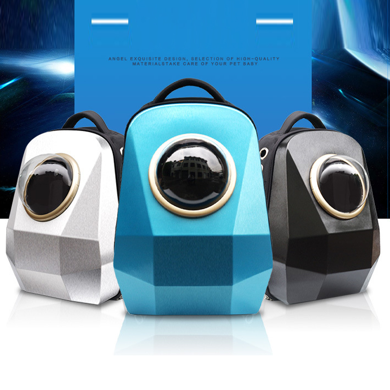 Space Capsule Shaped Pet Carrier Breathable backpack for dog cat outside Travel portable bag pet products accessories GB0183Space Capsule Shaped Pet Carrier Breathable backpack for dog cat outside Travel portable bag pet products accessories GB0183