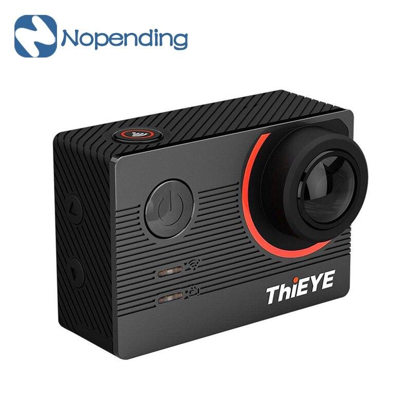NEW Original E7 Thieye 30FPS Câmera de Ação de Esportes Wi-fi 4 K EIS 170 FOV Voice Control Camera Mergulho 60 m À Prova D' Água Ação câmera