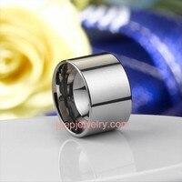 Большой Вольфрам Сталь кольцо персонализированные Вольфрам Сталь кольцо Модные украшения Для мужчин Кольца для вечеринки