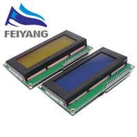 1 pièces LCD2004 + I2C 2004 20x4 2004A écran bleu/vert HD44780 caractère LCD/w IIC/I2C Module adaptateur d'interface série