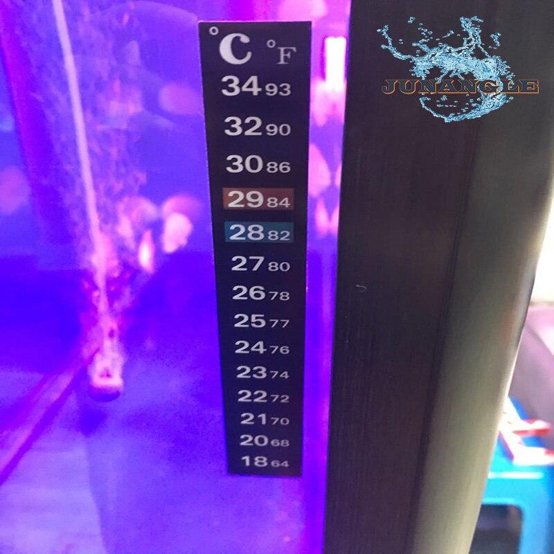 1pcs/5pcs Aquarium Supplies Fish Tank Thermometer Stickers LCD Temperature Measuring Fish Tank Stickers Aquarium Accessories