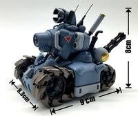 NEW hot 8cm blue Metal Slug assemble tankette collectors action figure toys Christmas gift toy