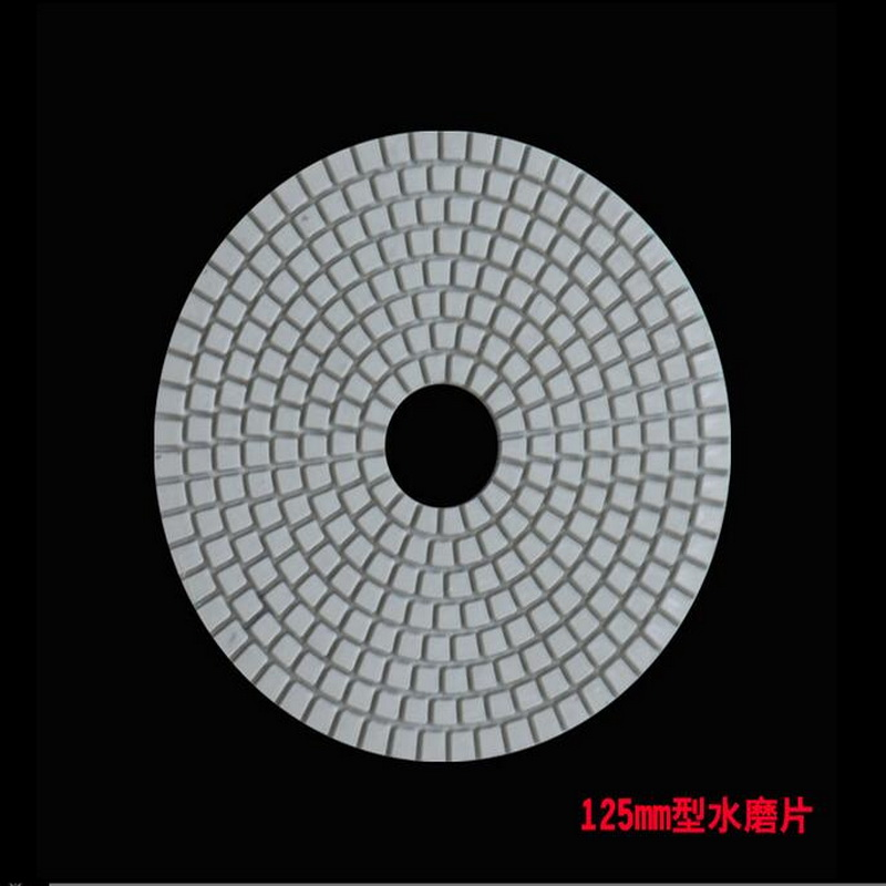 Free Shipping 1PC Of 125-180mm Diamond Water Mansory Polishing Pad Grit As 50/150/300/500/1000/2000/3000# With Self Adhere
